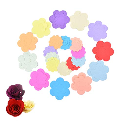 A4 Paper Sheet - 22pcs Lot Paper Flowers Rose Diy Handmade Material Two Sizes Wholesale - Beauty Phones Sports Cell Computers Toys Health Home Garden Electronics Weddings Events Accessories from Unknown