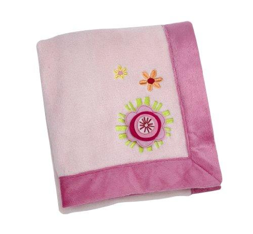 NoJo Jumbo Appliqued Fleece Blanket product image