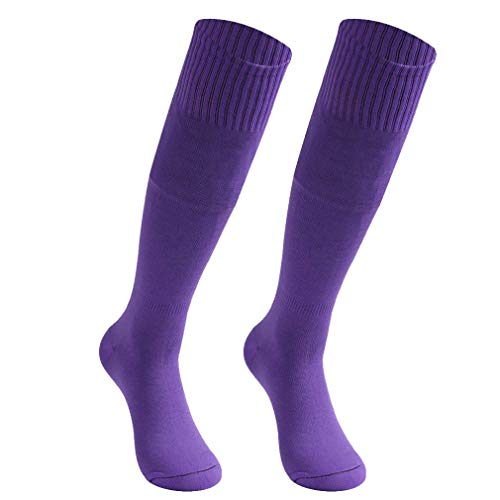 HAPYCEO Mens Soccer Socks Youth Soild Color
