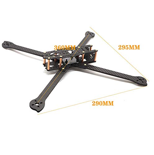 Usmile HSKRC XL8 360mm 8 inch Long Range Carbon Fiber FPV Racing Drone Quadcopter Quad Frame