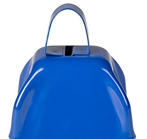 3'' BLUE METAL COWBELL, Case of 144 by DollarItemDirect (Image #2)