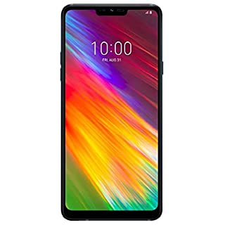 "LG G7 Fit (64GB, 4GB RAM) 6.1"" Display, 4G LTE Dual SIM GSM Factory Unlocked Phone with IP68 Water Resistant, Boombox Speaker Q850EAW - Black…"