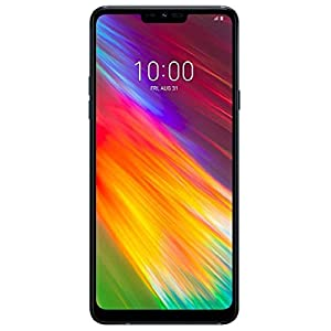 LG G7 Fit (64GB, 4GB RAM) 6.1″ Display, 4G LTE Dual SIM GSM Factory Unlocked Phone with IP68 Water Resistant, Boombox Speaker Q850EAW – Black…