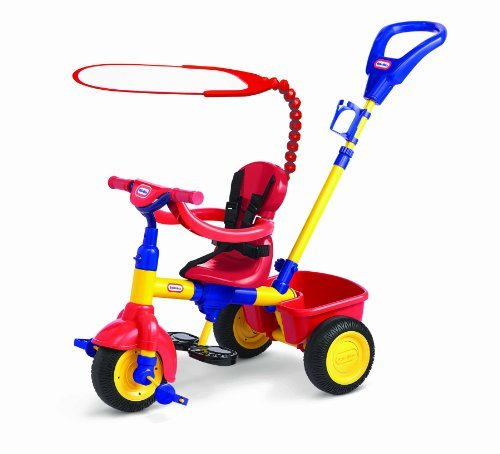 Three Stages To Grow With Child - Parent Push Trike, Parent Guided Trike And Kid Powered Trike - Little Tikes 3 in 1 Trike Red