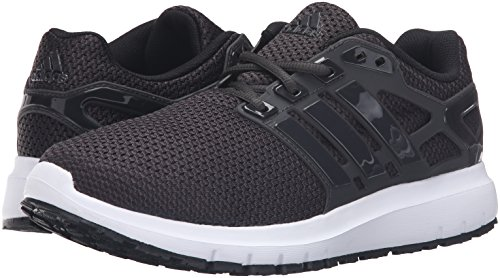 adidas Men's Energy Cloud WTC m Running Shoe, Black/Utility Black/White, 10.5 M US
