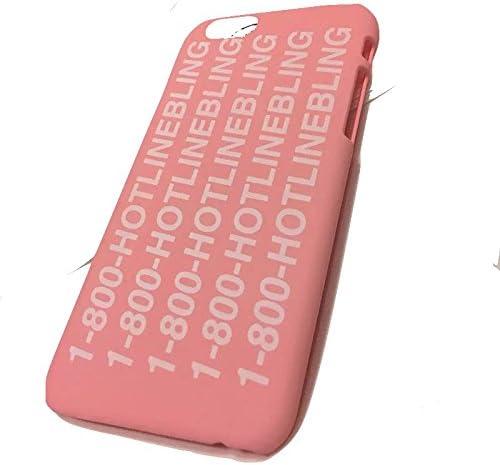 Drake 1-800 Hotline Bling Pink Hip Hop Hard Plastic Case for Apple ...