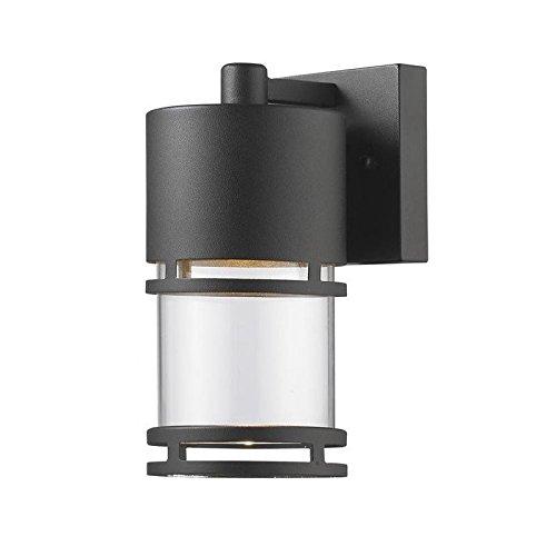 Z-Lite Luminata Outdoor LED Wall Light in Black