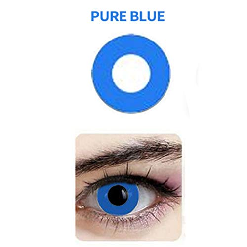 Multi-Color Attractive Fashion Cosplay Party Eyes Lenses (A Pair) - For Eyes Blue Contacts
