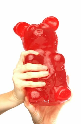 World's Largest Gummy Bear, Approx 5-pounds Giant Gummy Bear