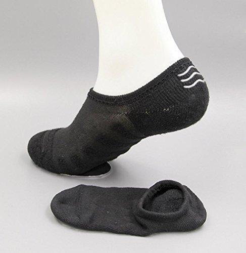 Sagton 1 Paar Heren Soft Casual Katoenen Sportsokken Sokken Enkelkussensokken D