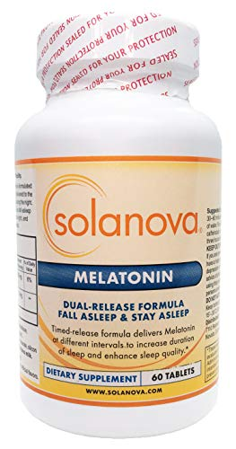 Solanova Dual Release Melatonin, 60 Tablets, 3 mg
