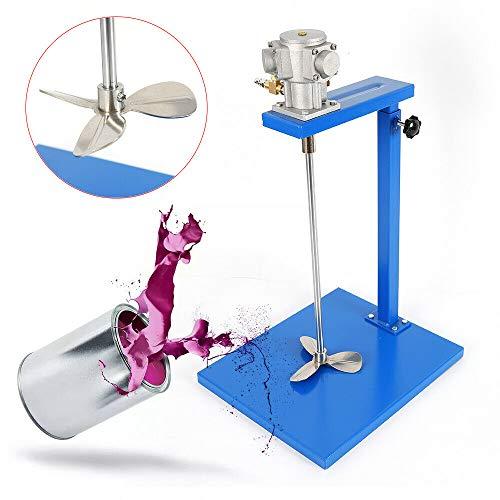 Pneumatic Paint Mixer 5 Gallon Auto Pneumatic Paint Mixer Air Agitator Blender Ink Coating Mixing Tool for Viscous Liquid oating Mixing Tool Blender Dispenser Coating Industry (Laboratory Agitator)