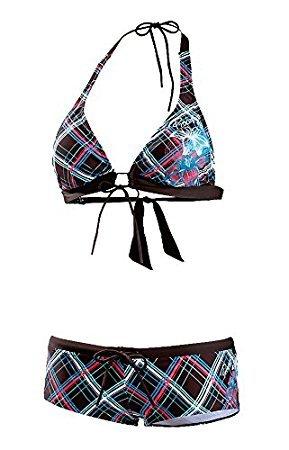 Protest–Bikini para, mujer, braun/pink, S / E braun/pink