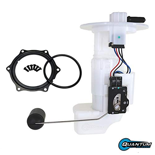 HFP-A486 Fuel Pump Assembly with Tank Seal & Lock Ring w/Bolts, Replacement for Kawasaki Brute Force 750 KVF750 EFI (2008-2019) Replaces 49040-0717, 49040-0033, 49019-0013