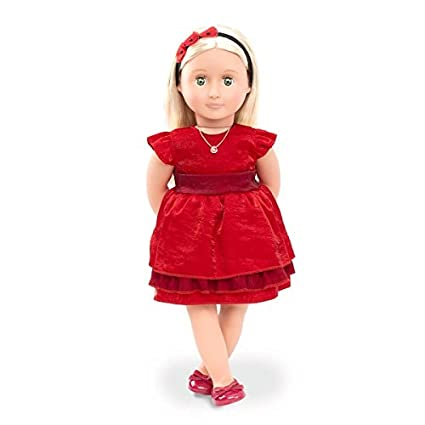 49d4c20f8d726 Image Unavailable. Image not available for. Color: Our Generation Deluxe  Doll - Ginger ...