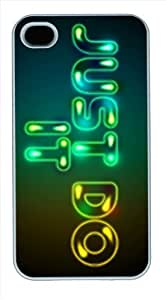 Just do it background DIY Hard PC For Samsung Galaxy S3 I9300 Case Cover Case black