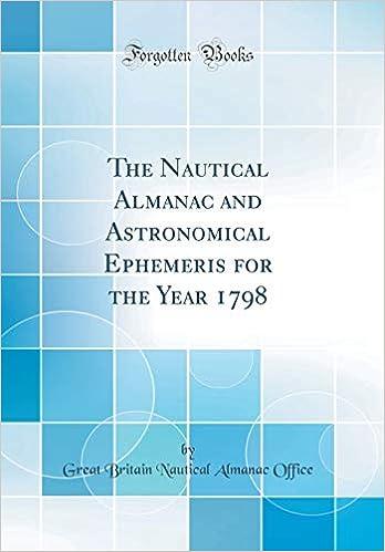 Buy The Nautical Almanac and Astronomical Ephemeris for the Year