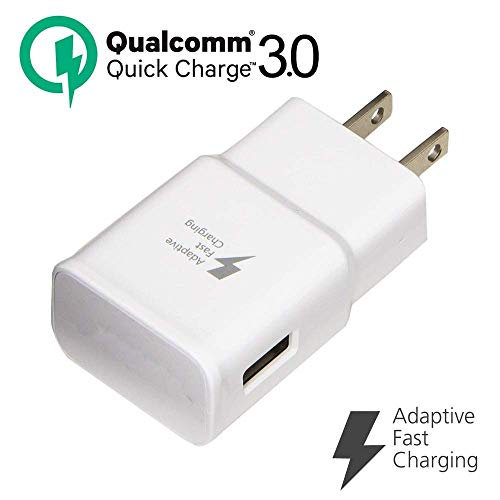 Adaptive Fast Charger, JULAM USB Travel Wall Charger Plug Power Adapter Quick Charging QC 3.0 Compatible MicroMax Canvas Juice A1 Q4251 5.0