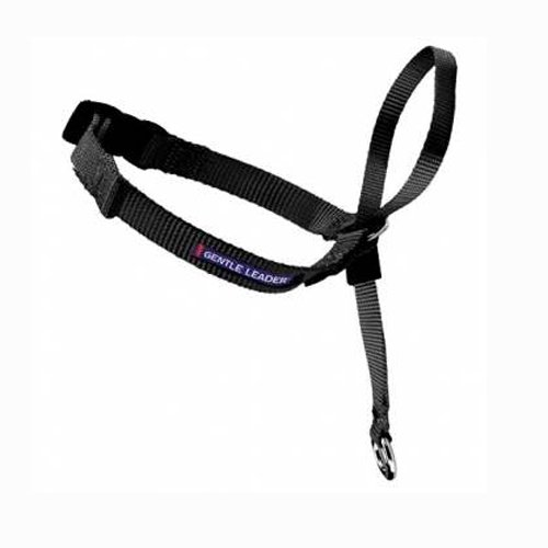 - PetSafe Gentle Leader Head Collar with Training DVD, MEDIUM 25-60 LBS., BLACK