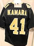 Alvin Kamara New Orleans Saints Signed Autograph Black Custom Jersey JSA Witnessed Certified