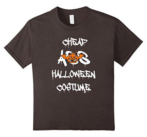 Kids Halloween Nerd pumpkin Costume - Funny ghost T-Shirt 12 (Nerd Halloween Costumes Ideas For Kids)