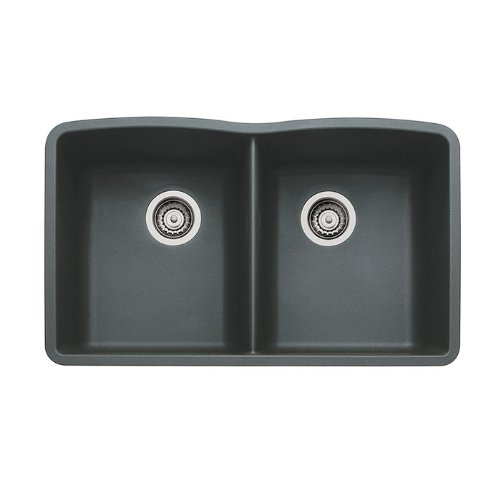 Anthracite Double Bowl Kitchen Sink - 9