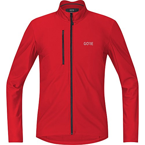 - GORE WEAR C3 Men's Long Sleeve Jersey, XXL, Red
