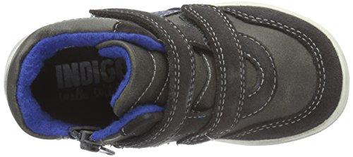 Indigo Sneaker - Botas de senderismo Bebé-Niñas Gris - Grau (260 Dk. grey/cobalt VL)