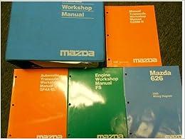 2001 Mazda Protege Service Shop Repair Manual HUGE SET ...