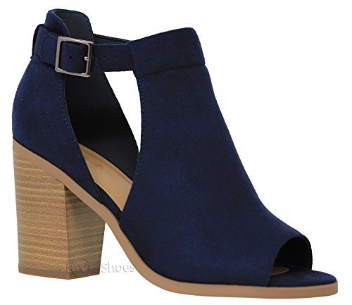Heel Ankle High Boots - 5