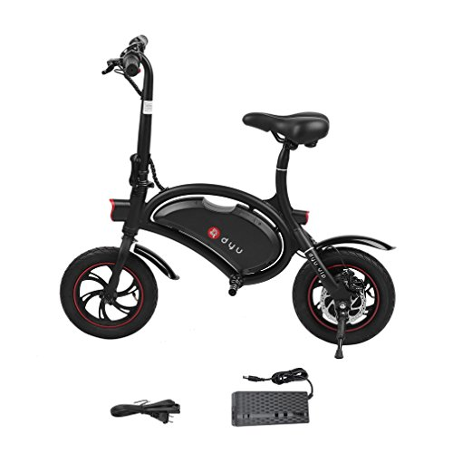 OUTAD Folding E-Bike with 36V 6AH Lithium-Ion Battery, 12 inch Wheels and 250W Hub Motor | Lightweight and Aluminum Electric Bicycle | Reach 18.6 mph, 264 lbs Max Load Review