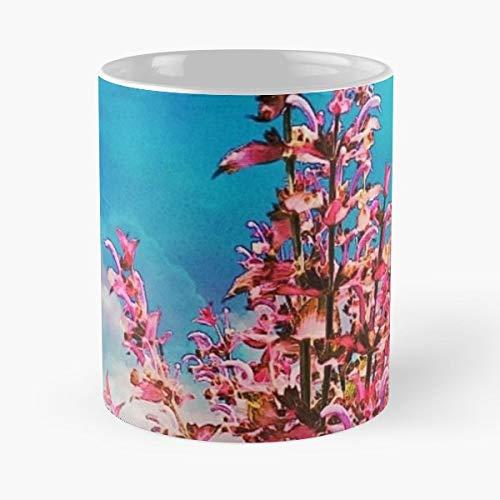 Flower Lav - Morning Coffee Mug Ceramic Best Gift ()
