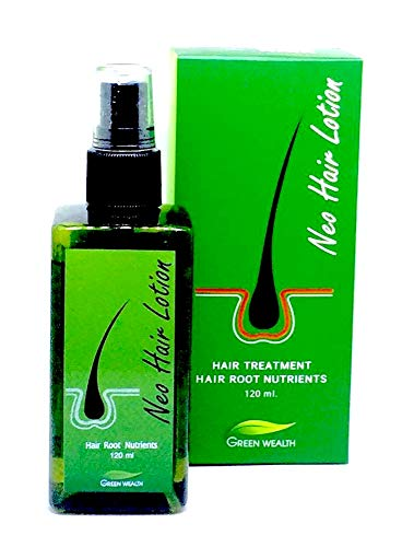 (Neo Hair Lotion Herbs 100% Natural Treatment Spray STOP Hair Loss Root Nutrients 4.2 Oz.)