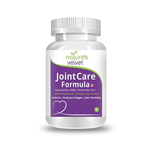Natures Velvet Lifecare Glucosamine MSM Chondroitin Vit C