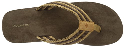 Dockers Mens 2124 Flip-flop Tan
