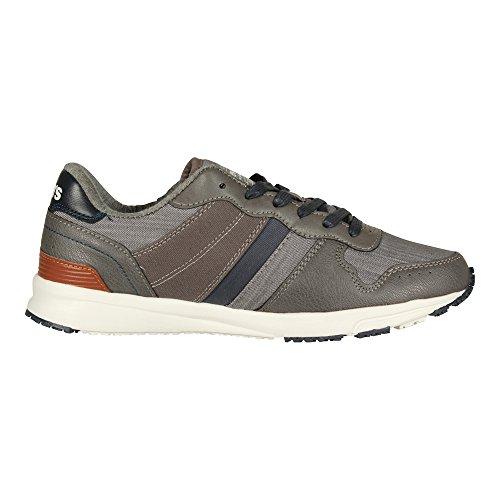 Baylor Mens Sneaker Charcoal Gris Levi's PZBwEq