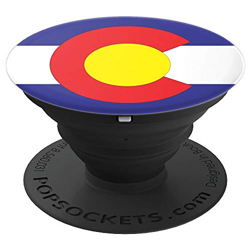 Colorado State Flag - PopSockets Grip and Stand for Phones and Tablets