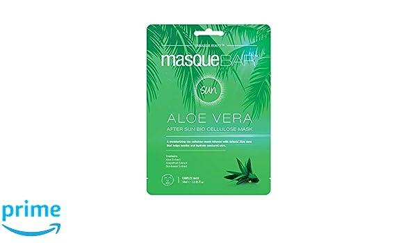 Amazon com : Masque Bar Aloe Vera After Sun Bio Cellulose