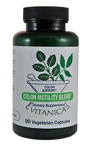 Vitanica Colon Motility Blend, Colon Support, Vegan, 90 ()