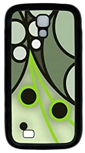Cool Painting Samsung Galaxy I9500 Case and Cover -Overlapping Circles Custom PC Soft Case Cover Protector for Samsung Galaxy S4/I9500