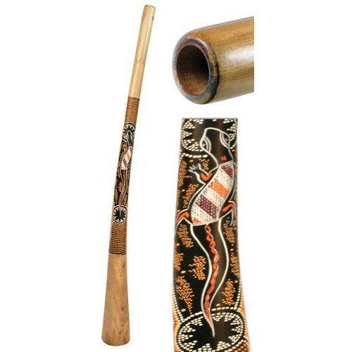 Terre Didgeridoo Teak bemalt 150cm