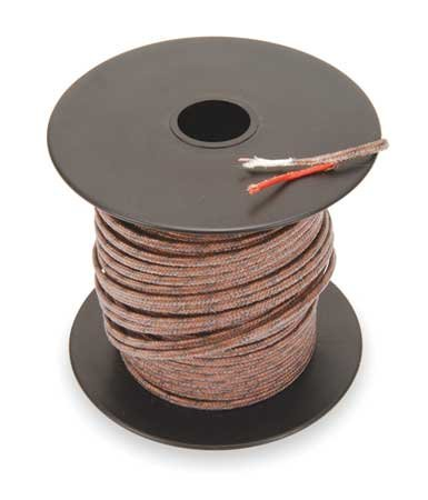 - Thermocouple Lead Wire, J, 24AWG, Sol, 100Ft