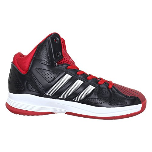 adidasPro Model 0 II - Zapatos de Baloncesto Hombre - Black/Red and White