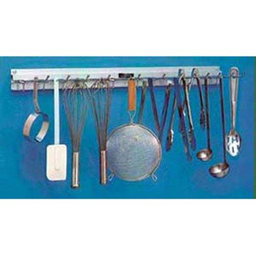 H A Sparke Company SRK-18 Kitchen Utensil Rack 18'' Long, 6 Hangers
