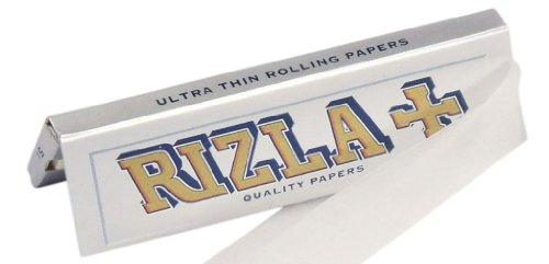 (Rizla Silver Cigarette Rolling Papers - 10 Packets)