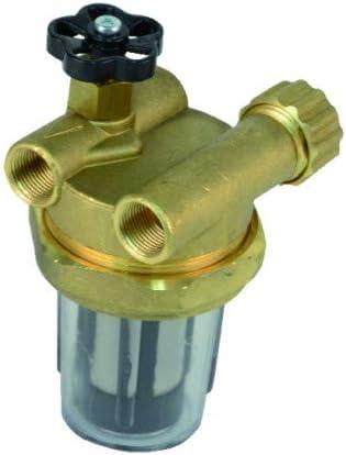 Expert by net - Filtro gasoil - Filtro con llave de paso serie con reciclaje
