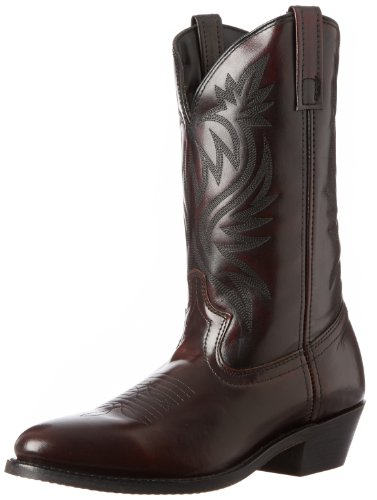 Laredo Mens London Western Boot,Black Cherry,10.5 D US