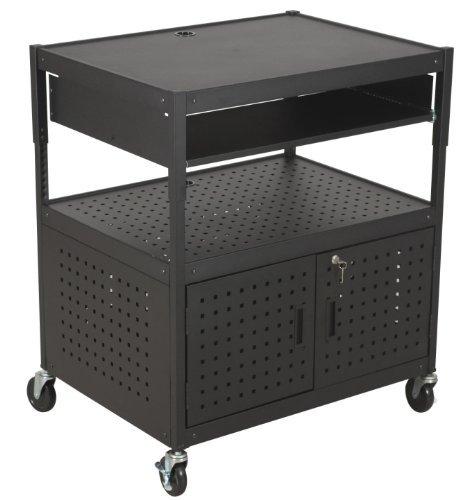 Balt FDB AV Cart, Document Camera Cart, Projector Cart, Stand Up Workstation (27565) (Renewed)