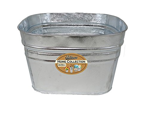 Behrens 61 Vintage Steel Square Tub, 12 (12 Gallon Square)
