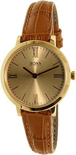 Hugo Boss Women's 1502394 Golden Leather Quartz Watch